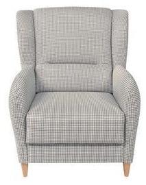 Atzveltnes krēsls Black Red White Pasos Gray, 83x91x100 cm