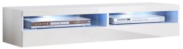 TV galds ASM RTV Fly 35 White, 1600x400x300 mm