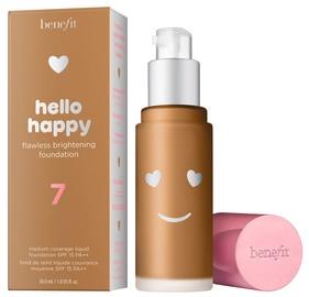 Tonizējošais krēms Benefit Hello Happy 07 Medium-Tan Neutral F 07 Medium-Tan Neutral F, 30 ml