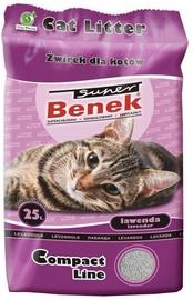 Kaķu pakaiši Super Benek Lavender, 25 l
