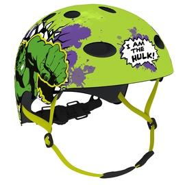 Шлем Disney Hulk 9064, зеленый, 540 - 580 мм