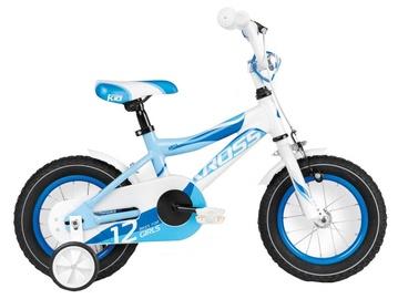 "Bērnu velosipēds Kross Maya 12"" Blue White Glossy 16"
