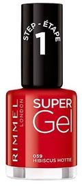 Лак для ногтей Rimmel London Super Gel By Kate 59, 12 мл