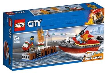Konstruktors Lego City Dock Side Fire 60213