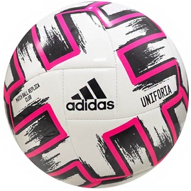 Adidas Uniforia Club Ball White/Black/Pink Size 4