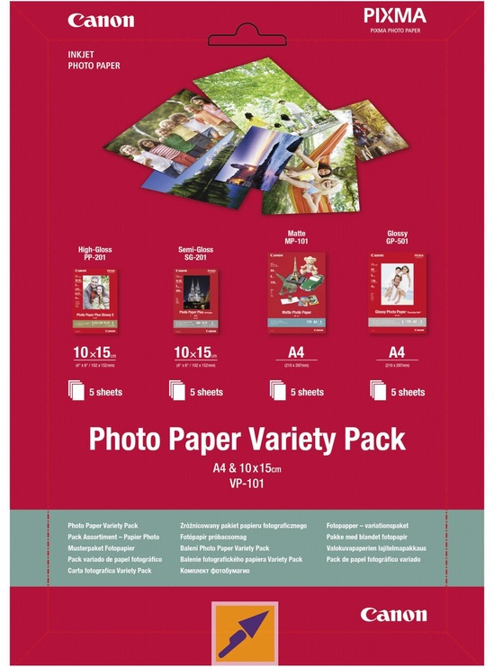 Canon VP-101 A4 10 x 15 Photo Paper