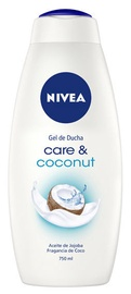 Dušas želeja Nivea Care & Coconut, 750 ml