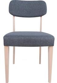 Ēdamistabas krēsls Home4you Adora 21927, pelēka