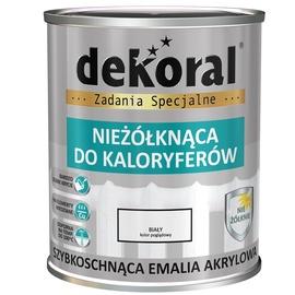 Dekoral Radiator Acrylic Paint 0.75l White