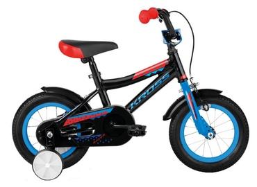 "Bērnu velosipēds Kross Racer 2.0 12"" Black Blue Red Glossy 19"
