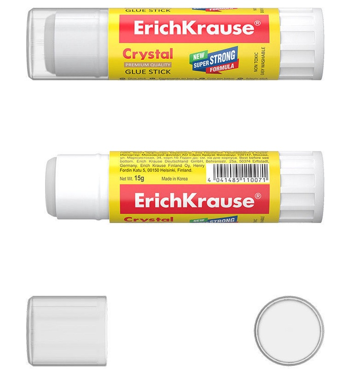 ErichKrause Glue Stick Crystal 15g