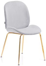 Ēdamistabas krēsls Homede Florin Silver, 2 gab.