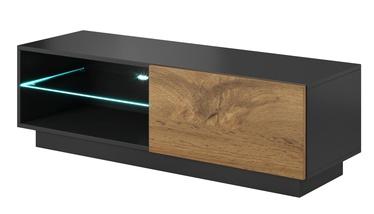 TV galds Halmar Livo RTV 120S Antracite/Votan Oak, 1200x400x380 mm