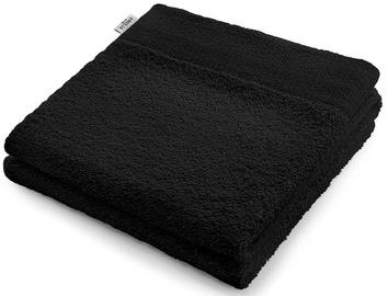 Полотенце AmeliaHome Amari 23824 Black, 50x100 см, 1 шт.