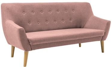 Dīvāns Signal Meble Nordic 3 Cablo 12 Pink, 180 x 75 x 90 cm