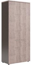 Skyland XTEN Office Cabinet XHC 85.1 Sonoma Oak/Dark Wood