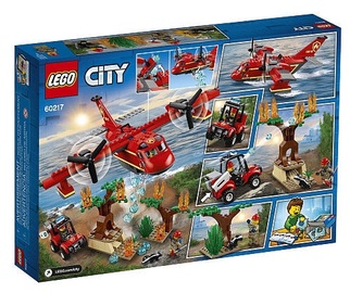 Konstruktors Lego City Fire Plane 60217
