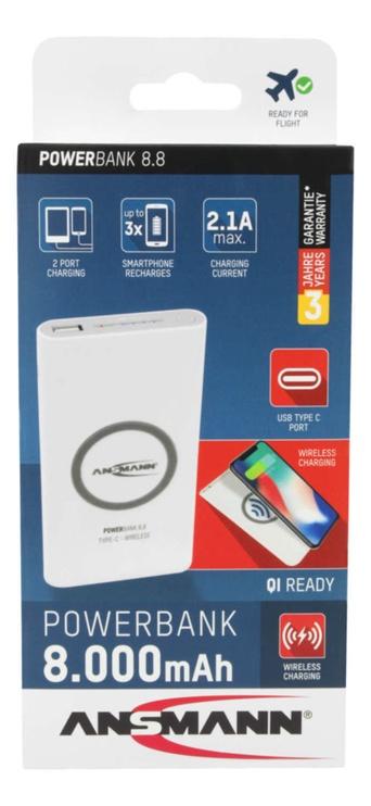 Ansmann Powerbank 8.8 Type C Wireless