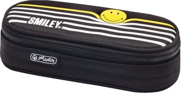 Herlitz Pencil Pouch Case Airgo Smiley B&Y Stripes 50015221