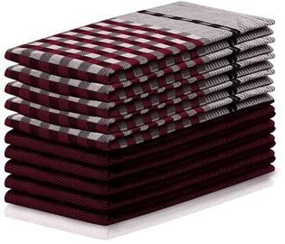 Кухонное полотенце DecoKing Louie, красный, 70 см x 50 см, 10 шт.