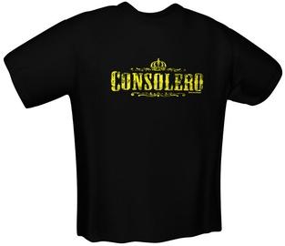 GamersWear Consolero T-Shirt Black XL
