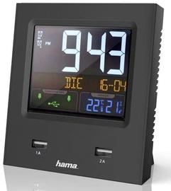 Hama Dual-USB Radio Alarm Clock