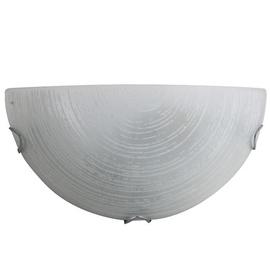 Daira Wall Lamp E27 60W White/Chrome