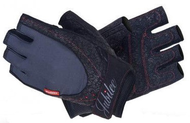 Mad Max Jubilee Gloves with Swarovski Elements Black M
