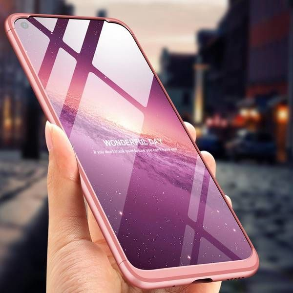 GKK 360 Protection Case For Huawei Honor View 20 Pink