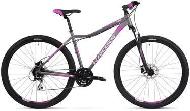 "Kross Lea 5.0 M 29"" Graphite Pink Violet Matte 20"