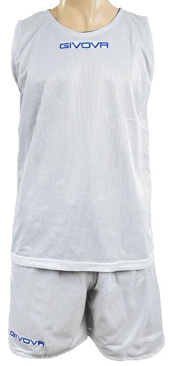 Givova Double Basketball Set Blue White S
