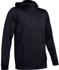 Under Armour Mens Fleece Hoodie 1329808-002 Black M
