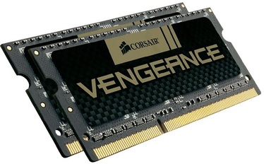 Operatīvā atmiņa (RAM) Corsair Vengeance CMSX8GX3M2A1600C9 DDR3 (SO-DIMM) 8 GB CL9 1600 MHz