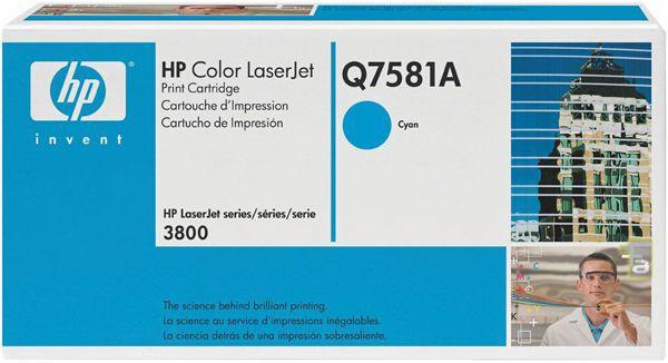 HP LaserJet Q7581A CYAN