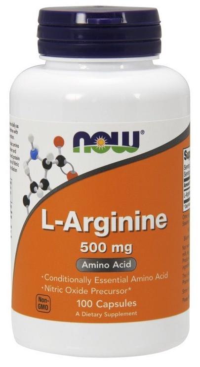 Now Foods L-Arginine 500mg Capsules