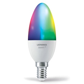 Viedā spuldze Ledvance LED, E14, B38, 5 W, 470 lm, 2700 - 6500 °K, rgb, 1 gab.