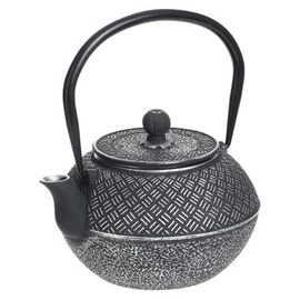 Tējkanna Cast iron teapot rice 1l black