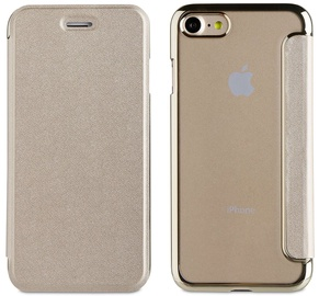 Muvit Life Flip Case For Apple iPhone 7/8 Gold