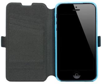 Telone Super Slim Shine Book Case Alcatel C7 One Touch 7041D Blue