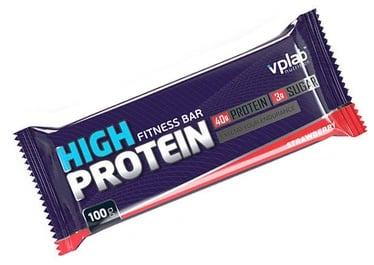VPLab High Protein Bar Strawberry 15x100g