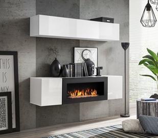 Dzīvojamās istabas mēbeļu komplekts ASM Fly N1 White