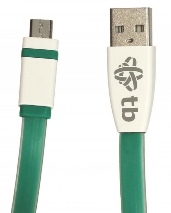 TB Cable Micro USB / USB 2m Green