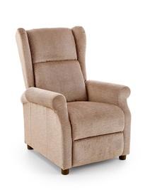 Atzveltnes krēsls Halmar Agustin Beige, 75x92x107 cm