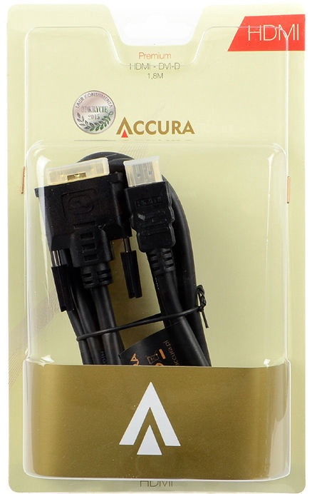 Accura Premium DVI-D to HDMI ACC2106 1.8m