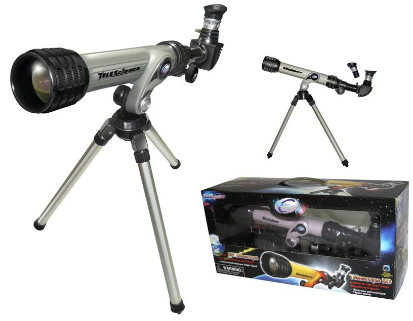 Intelektuāla rotaļlieta Eastcolight Power HD Telescope w/ Diagonal Mirror & Tripod White