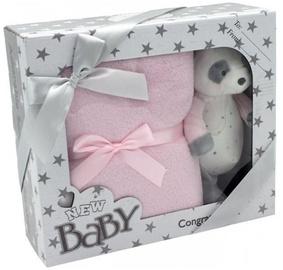 Komplekts Tulilo New Baby, rozā, 2 gab.