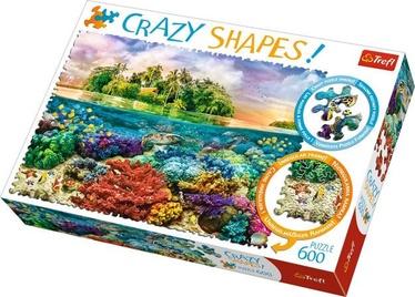 Puzle Trefl Crazy Shapes Tropical Island 11113T, 600 gab.
