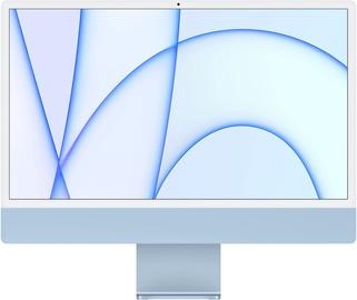 "Стационарный компьютер Apple iMac / MGPK3ZE/A / 24"" Retina 4.5K / M1 8-Core GPU / 8GB RAM / 256GB Blue LT"