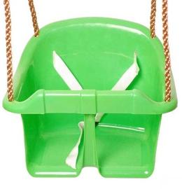 Plastmasas šūpoles 4IQ, zaļa