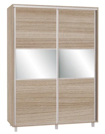 Skapis Bodzio SZP150 Latte, 150x60x210 cm, with mirror